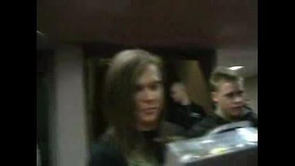 Tokio Hotel-m & G В Ротердам [бил говори на английски xd]