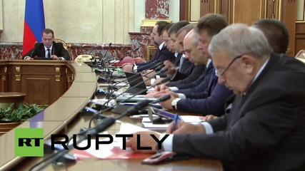 Russia: Transport Minister Sokolov briefs Medvedev on flight 7K9268 investigation