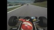 Osterreichring Eddie Cheever onboard lap - 1983г.