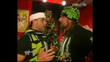 Dx and Hornswoggle Christmas Promo
