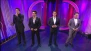 Il Divo - Time to say goodbye (the one show - 28.11.2012)