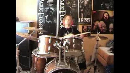 Lordi - Would You Love a Monsterman - drums cover
