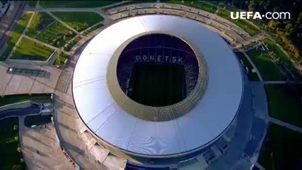 Градовете на Евро 2012: Донецк
