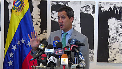 Venezuela: Guaido claims security personnel threated by armed bikers