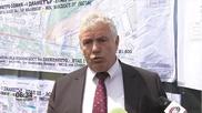 Строежът на метрото затваря едното платно на булевард Александър Малинов