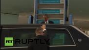Обама кацна в Анталия за срещата на Г-20