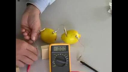 Как да си направим батерия от лимон