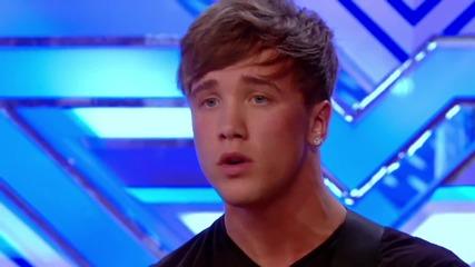 Много добро изпълнение на Sam Callahan - You're Beautiful || The X Factor U K 2013 ||