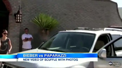 Justin Bieber Fight_ Video Released of Photog Entering Ambulance, Selena Gomez Refuses Questions