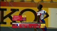 Teddy Tamgho - постави световен рекорд на троен скок в зала 17.90м