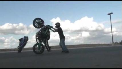 За Мото Лудаците: Tracy Stunt Spot Pt 2