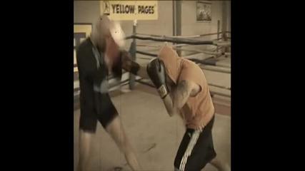 Бой между Киро Скалата и Дичо в Фитнес Мания