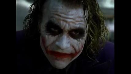The Joker Pencil Trick &mob Scene