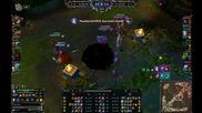 League of Legends - 5vs5 / Quadra Kill Jinx