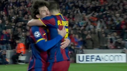Gol de Lionel Messi - Barcelona 3-1 Arsenal [hd]