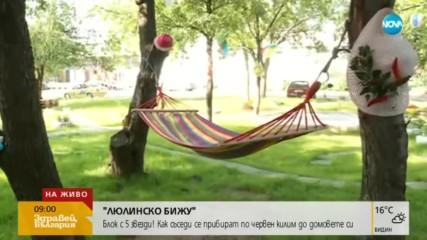 """""""ЛЮЛИНСКО БИЖУ"""": Съседи превърнаха вход на блок в апартамент"""