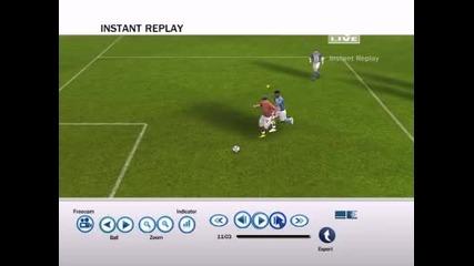 Много смешен гол на fifa 08