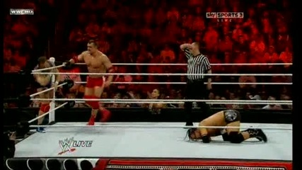 Wwe Raw - Jimmy & Jey Uso vs. Santino Marella & Vladimir Kozlov 17.01.2011 ( Мач за отборните титли)