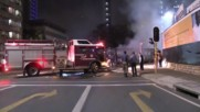 South Africa: Students set cars and buses alight after clashes with police in Johannesburg