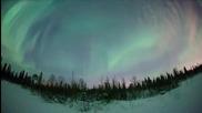 Спиращо дъха видео... Северното сияние 2012 (aurora Borealis)