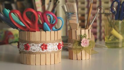 Сладурски моливници от стари бурканчета и кутии!