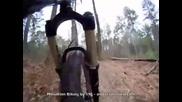 Rock Shox Lyrik and Mountain Biking Helmet Cam Footage - Mou