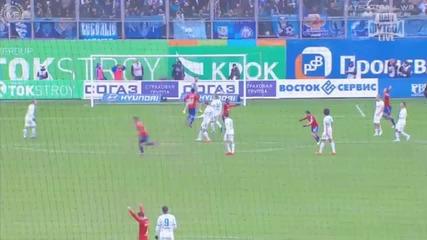 Фантастичен дебютен гол на Георги Миланов за Цска Москва срещу Зенит