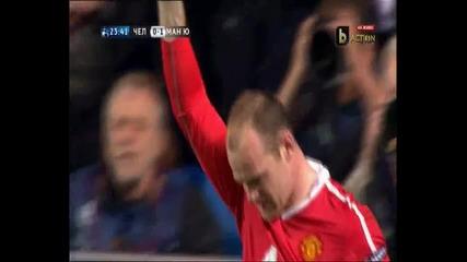 Chelsea 0:1 Manchester United - Гола на Рууни