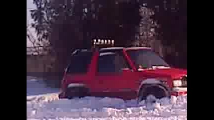 suzuki vitara snow