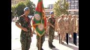 В Пловдив посрещнаха българския контингент от Афганистан
