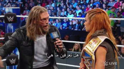 Edge's advice to Becky Lynch: Wal3ooha, 18 October, 2018