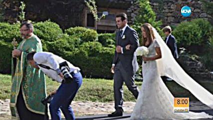 Стоичков омъжи малката си дъщеря Христина
