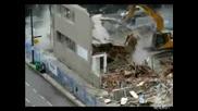 Как Не трябва да се събаря сграда :)