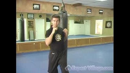 Kickboxing Technique - The Jab (ляв Прав в Кикбокса).flv