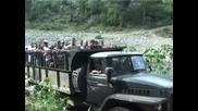 Урал 375 Пресича Река В Куба