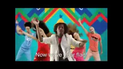 *new* (песента от Световното 2010) Knaan Ft. Nancy Ajram - Waving Flag +sub