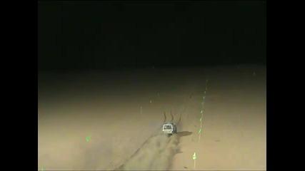 Зверски Нисан рови в пясъка!