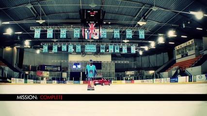 Хокей на лед с Alfa Romeo Giulietta