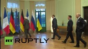 Germany: FMs gather for 'Normandy format' Ukraine crisis talks in Berlin