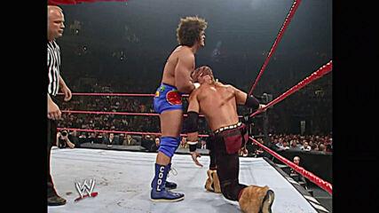 Shelton Benjamin vs. Carlito vs. Johnny Nitro – Intercontinental Title Triple Threat Match: Vengeance 2006 (Full Match)