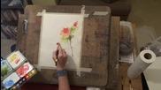 Рисуване на рози-демонстрация от Sandra Lynn Strohschein