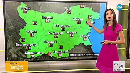 Прогноза за времето (02.04.19 - сутрешна)