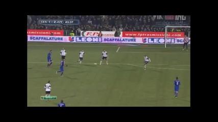 15.2.2015 Чезена-ювентус 2-2 Серия А