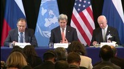 Germany: Progress made on humanitarian & ceasefire fronts at Syria talks - Kerry