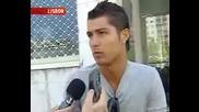 Cristiano Ronaldo Interview