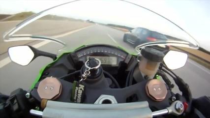 Да те изпревари комби докато караш с 300 Audi Rs6 Abt 700 ps