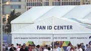 Russia: Fans arrive to Volgograd stadium ahead of Tunisia-England clash