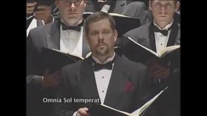 Carmina Burana - 4. Omnia Sol Temperat Tacet.wmv