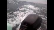 Залива Бургас Черно Море wind N/e 5m/s