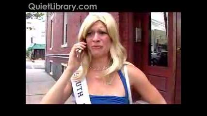 Miss Teen South Carolina Се Обажда На 911